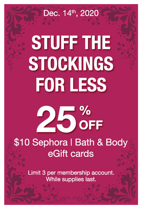 Stuff the stockings for less