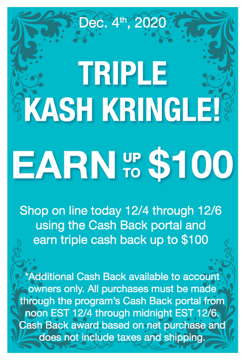 Triple Kash Kringle!