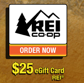 REI® $25 eGift Card - ORDER NOW